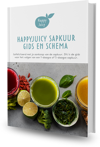 HappyJuicy sapkuur gids schema cover